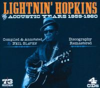 HOPKINS LIGHTNIN' (4CD)
