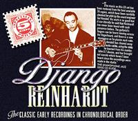 REINHARDT DJANGO (5CD)