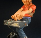 Rock keyboardist 21cm