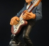 Rockgitarrist 19cm