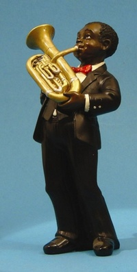 Baryton tuba 17 cm