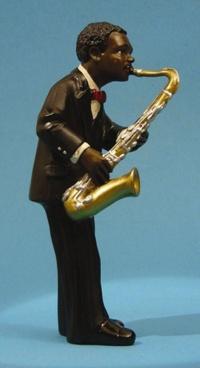 Saxofon ned 17 cm
