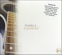 "Blandade artister ""Purely Country"" 2CD"